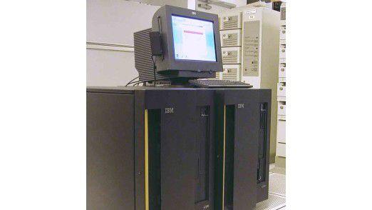 Der Mainframe - für IBM nicht nur die Mutter aller Computer, sondern auch Geburtsort der modernen Virtualisierung. (Foto: IBM)