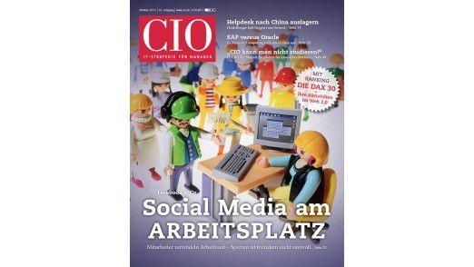 Die neue Oktober-Ausgabe des CIO-Magazins.