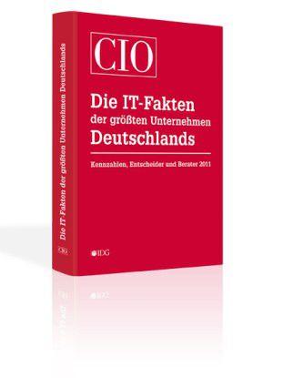 Das erste Jahrbuch zu den IT-Fakten der größten Unternehmen Deutschlands.