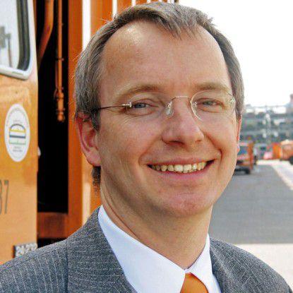 Martin Urban, CIO der Berliner Stadtreinigung, setzt auf Innovation auch im Kleinen.