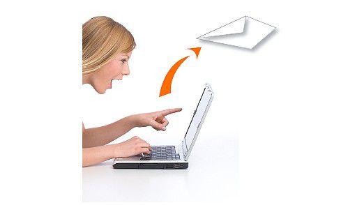 E-Mails sind schnell verschickt.