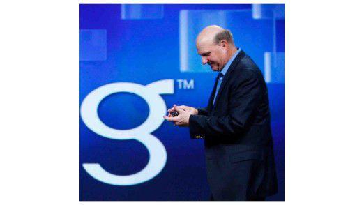 Kann für 2010 eine etwas ruhigere Bilanz vorlegen: Microsoft-Chef Steve Ballmer.