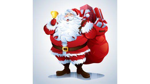 Der Weihnachtsmann.