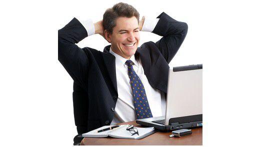 Unternehmenslenkung per Laptop - Immer mehr Unternehmen schulen ihre Mitarbeiter mit Planspielen.
