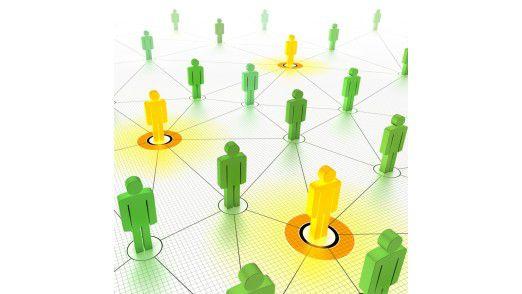 Das Offline-Netzwerk betrachten viele als Karrierehilfe.