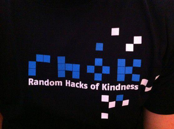 Zum zweiten Mal fand das Random Hacks of Kindness dieses Jahr auch in Deutschland statt.