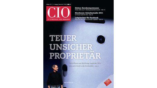 Die neue Juli/August-Ausgabe vom CIO-Magazin.