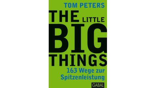 """Das Buch """"The Little Big Things"""" ist im Gabal-Verlag erschienen. Die 600 Seiten kosten 29,90 Euro."""
