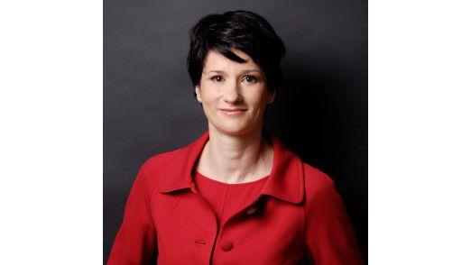 Alexandra Cebulsky setzt sich bei ihrem Arbeitgeber für das Thema Frauen in der IT ein.