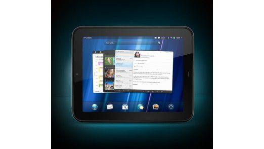 Mit dem iPad technisch auf Augenhöhe, aber bei der Zahl der Apps noch hinten: Das TouchPad von HP.