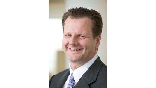 Begeistert vom mobilen Arbeiten: Oliver Bussmann, CIO der SAP AG.