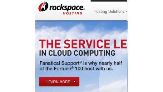Das Start-up RackSpace spielt eine führende Rolle bei der OpenStack-Plattform. Deshalb wird es fast von allen Server-Herstellern kräftig umworben.