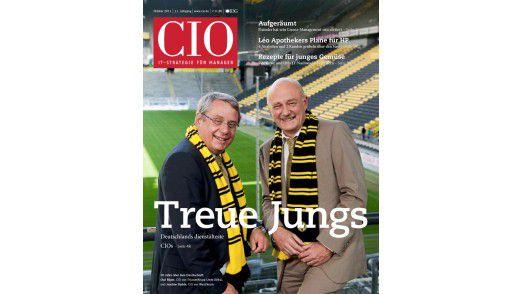 Die neue Oktober-Ausgabe vom CIO-Magazin.
