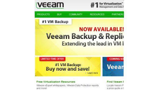Veeam wendet sich mit seinen Speicherlösungen an fast alle Anwender von Virtualisierung. Besondere Partnerschaften bestehen mit VMware. Microsoft, Dell und HP.