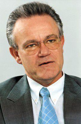 Hofft auf Synergien: Professor Hans-Jörg Bullinger, Präsident der Fraunhofer-Gesellschaft.