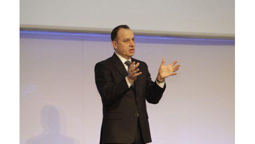 VW-Konzern-CIO Martin Hofmann auf den Hamburger IT-Strategietagen 2012.