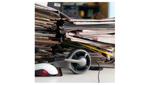 Ordnung im Kopf ist wichtiger als Ordnung auf dem Schreibtisch.