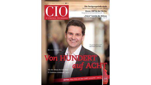 Die neue März-Ausgabe des CIO-Magazins.