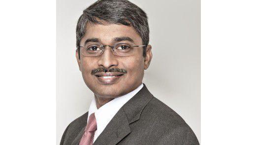 """Sapthagiri Chapalapalli, Deutschland-Chef von Tata. """"Tata will bis spätestens 2016 zu den führenden Anbietern in der Bundesrepublik zählen. Nirgendwo investieren wir mehr."""""""