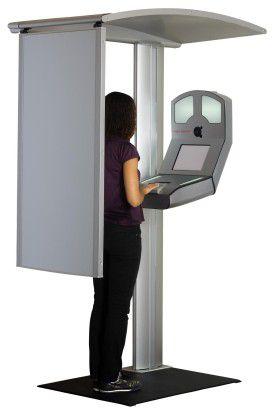 Das SB-Terminal für den neuen Personalausweis oder den biometrischen Reisepass.