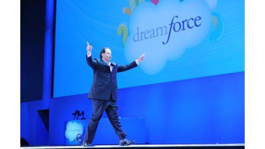 """Beim Kauf von ExaktTarget griff Salesforce.com-Chef """"Big Marc"""" Benioff tief in die Tasche."""
