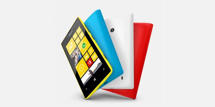 Noch immer am weitesten verbreitet: Nokia Lumia 520