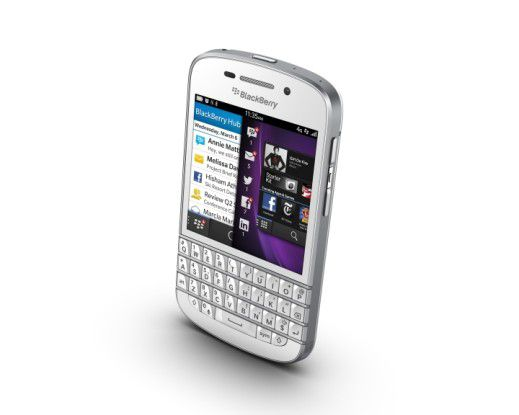 Das Corpus delicti: Blackberry Q10