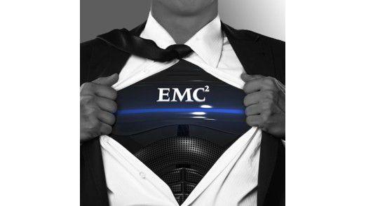 So sieht sich EMC gern: Superman, der mächtige Held gegen alles Böse (sprich: Konkurrenten).