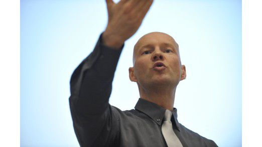 Trainer Peter Mohr empfiehlt, eine Präsentation bereits im Vorfeld durchzugehen.