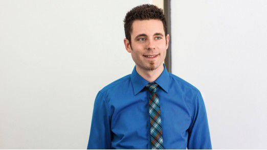"""Der Wirtschaftsinformatiker Martin Thron, jetzt mit dem """"CIO Young Talent Award"""" ausgezeichnet, will seine Führungsqualitäten weiter ausbauen."""