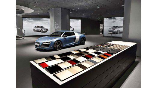 Deutschlands erster virtueller Audi-Showroom eröffnet 2014 in Berlin.