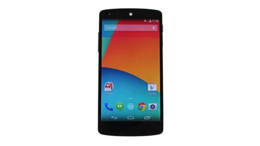 Unter anderem von der Schwachstelle in Android 4.4 betroffen: Das Google Nexus 5.