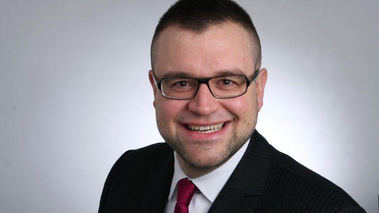 Christian Grodau, IT-Leiter von m-net, spricht drei Mal im Jahr ausführlich mit jedem seiner Mitarbeiter.