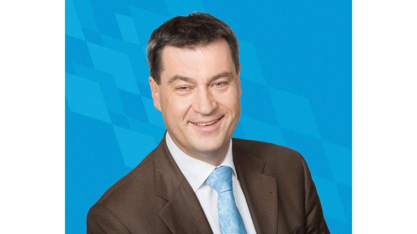 Neuer CIO in Bayern seit Januar 2014: Markus Söder. Er will die Digitalisierung vorantreiben.