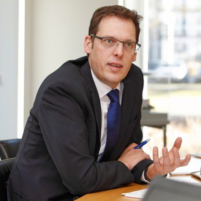 Markus Voss, SVP Global IT Strategy & Solutions bei DHL Supply Chain