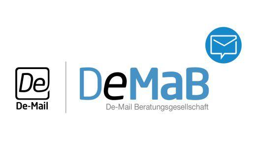 Das Logo der De-Mail-Beratungsgesellschaft.