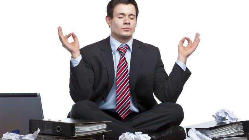 Erholsam: Meditieren ist genauso entspannend wie Schlafen.