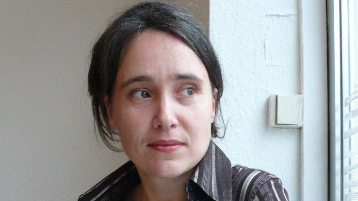 Sabria David, die Entwicklerin des Interaktionsmodell Digitaler Arbeitsschutz vom Slow Media Institut.
