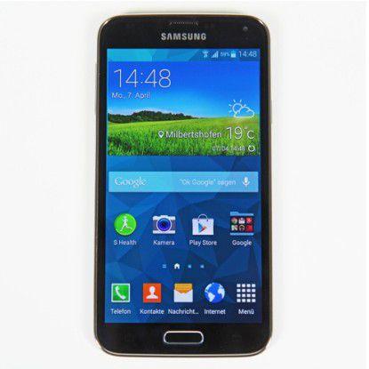 Bald auch mit Android Lollipop: Samsung Galaxy S5