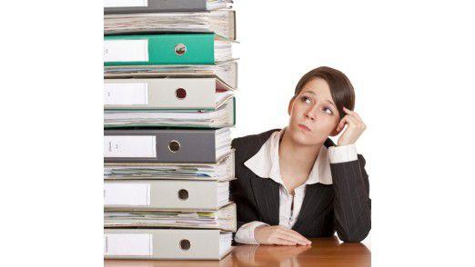 82 Prozent der Mitarbeiter leisten überflüssige Mehrarbeit, weil sie die Informationen nicht finden.