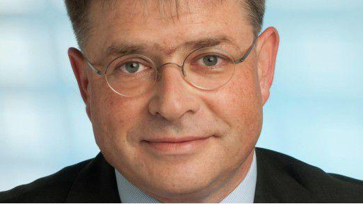 Sucht ebenfalls IT-Entwickler und Berater: Axel Streich von der Schwäbisch Hall.