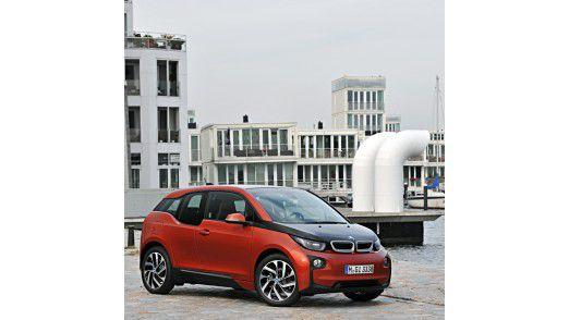 Der BMW i3 dürfte schon bald in dem einen oder anderen Fuhrpark auftauchen.