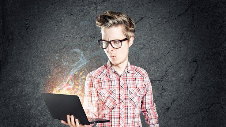 Cyber-Forensiker müssen in riesigen Code-Mengen Muster erkennen können.
