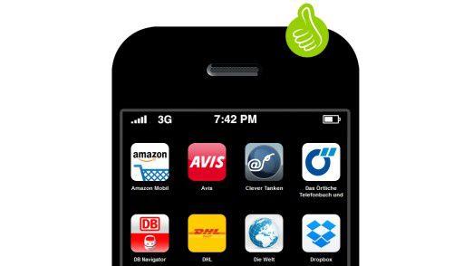 Testen Sie Ihre Android- oder iOS-Apps.