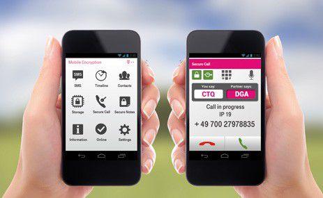 Keine zusätzliche Infrastruktur benötigen die Anwender bei der Telekom-Lösung Mobile Encryption App.