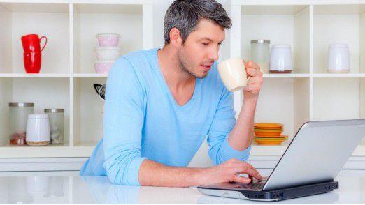 Wer von zu Hause aus arbeiten darf, ist laut einer DIW-Studie zufriedener.