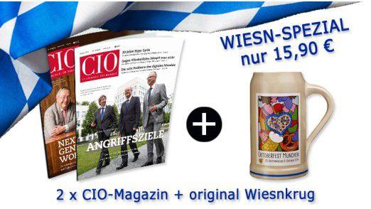 Testen Sie das CIO-Magazin zum Vorzugspreis.
