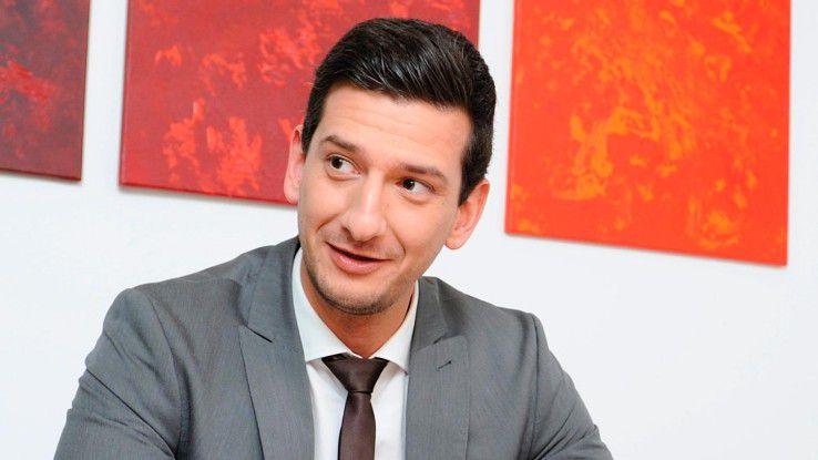 """Maxim Z. Probojcevic, Marketingleiter bei Solcom: """"Der Zeitraum zwischen Bedarfsanalyse und Besetzung wird immer kleiner."""""""