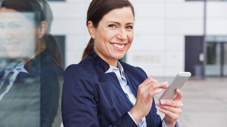 Dank LTE und wachsender Verbreitung von Smartphones steigt das mobile Datenvolumen weiter kräftig an.