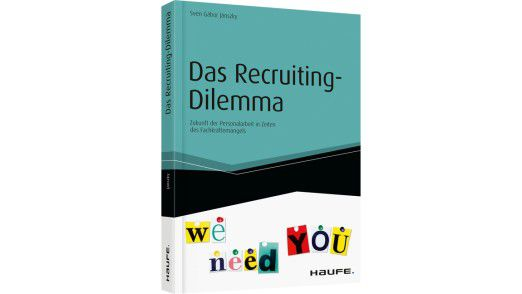 Das Recruiting Dilemma von Autor Sven Gábor Jánszky ist im Haufe Verlag erschienen.